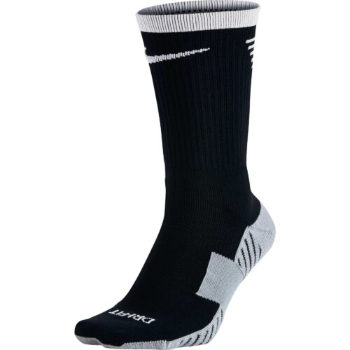 Nike Stadium Football Crew Sock – Black & White