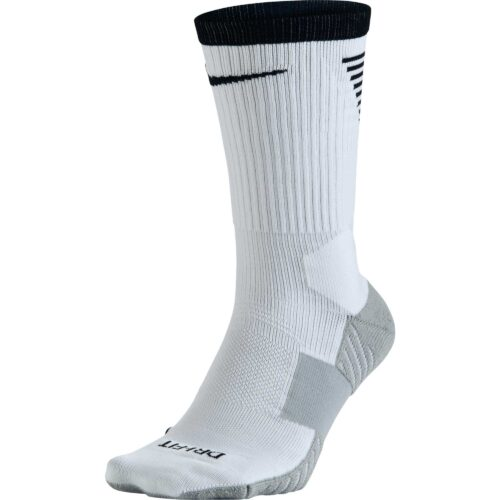Nike Stadium Football Crew Sock – White & Black