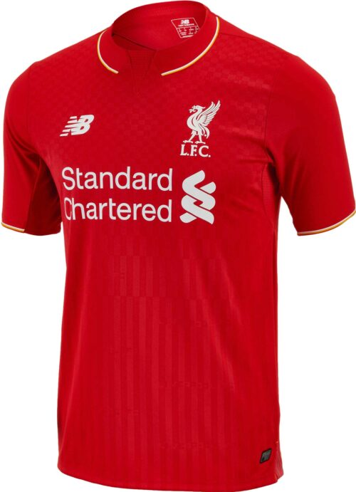 New Balance Liverpool Home Jersey 2015 – High Risk Red