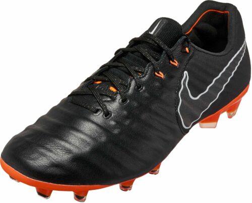 Nike Tiempo Legend 7 Elite FG – Black/Total Orange