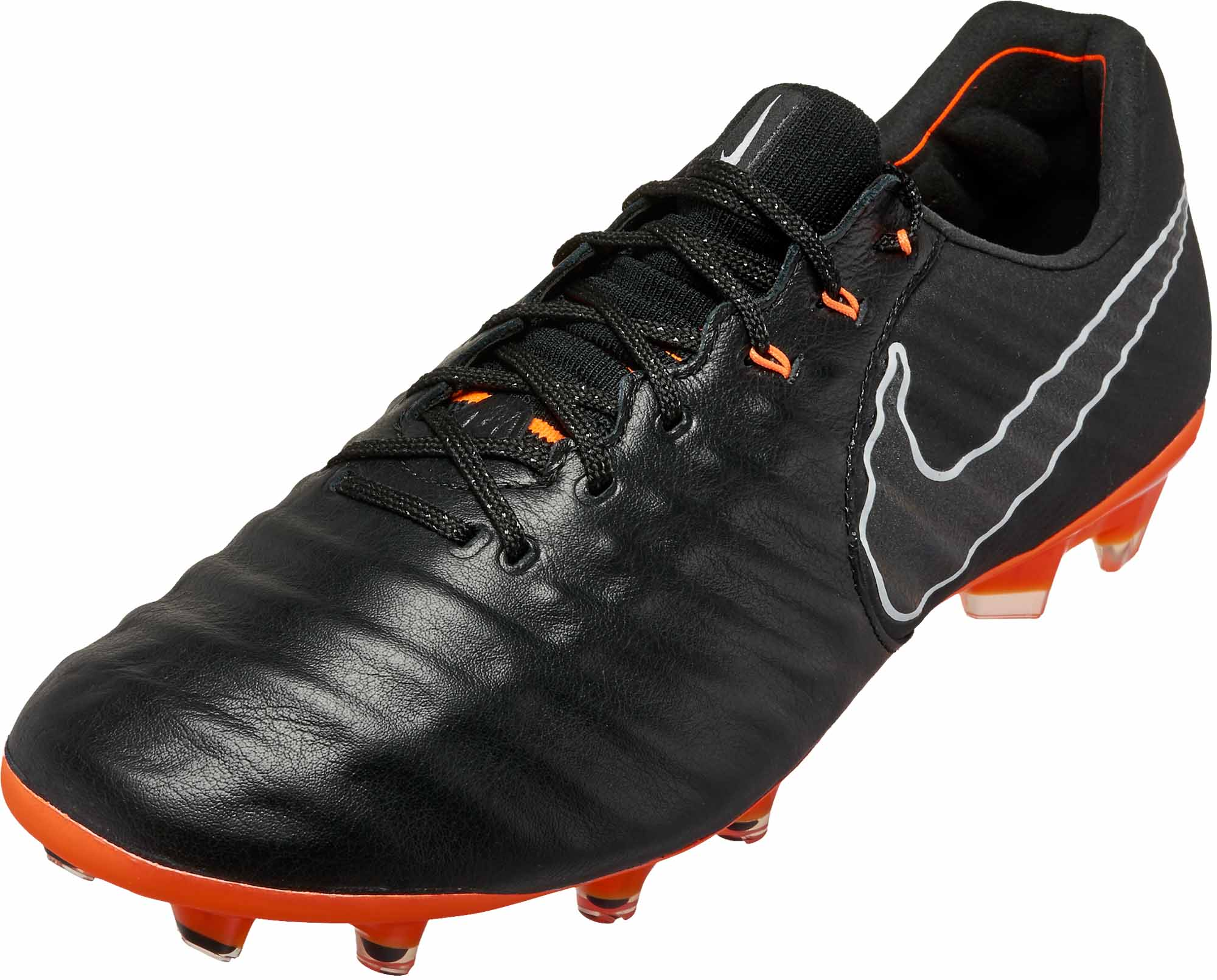 Nike Tiempo Legend 7 Elite FG – Black Total Orange 2e395ad79