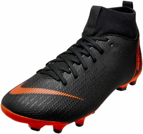 Nike Kids Superfly 6 Academy MG – Black/Total Orange