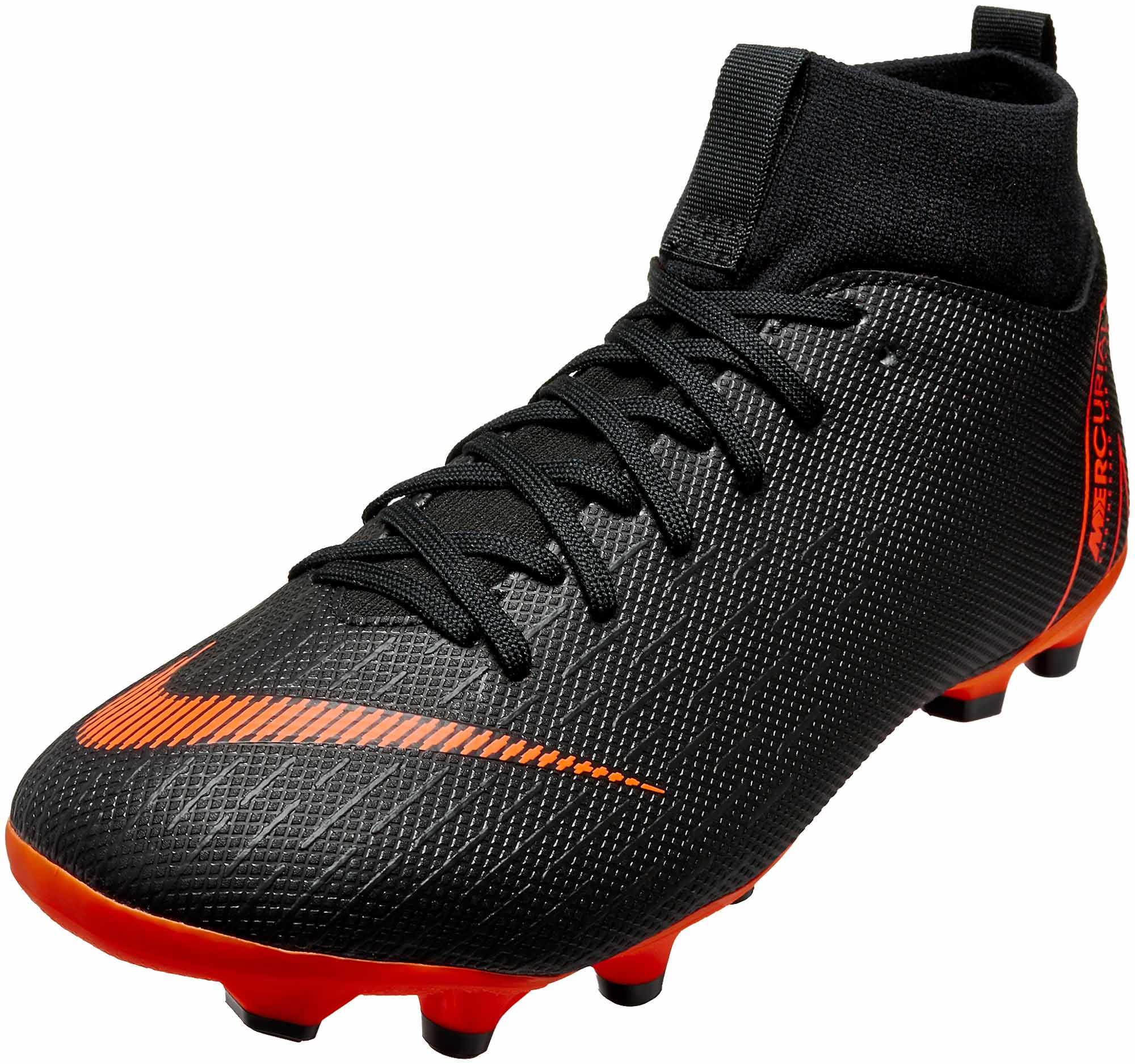 new arrival ab5ea bd880 Nike Kids Superfly 6 Academy MG – Black Total Orange