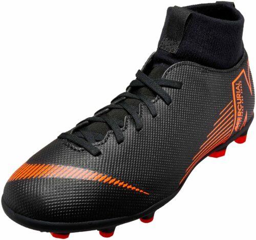 Nike Kids Superfly 6 Club MG – Black/Total Orange