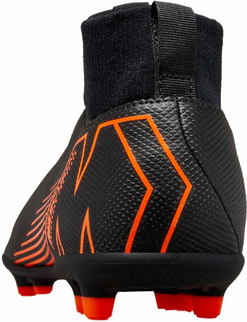 Nike Kids Superfly 6 Club MG – Black/Total Orange