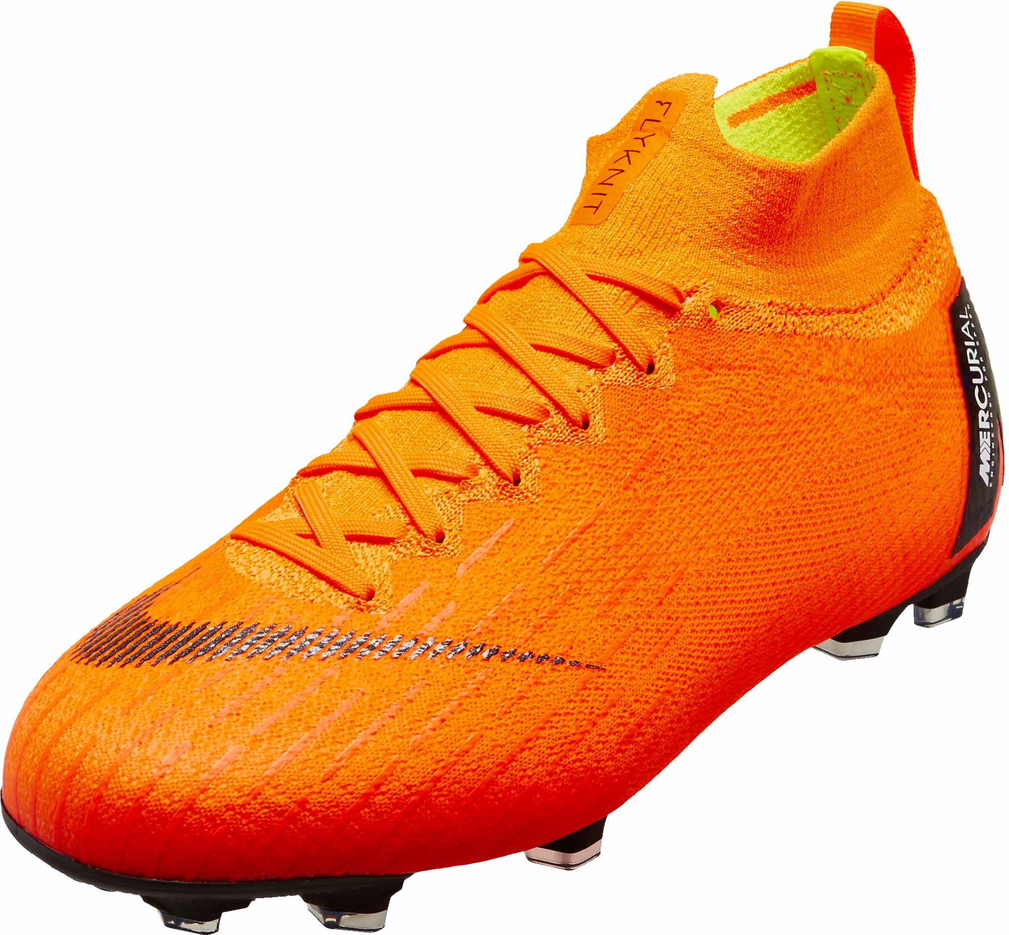 94dcd41b14f Nike Kids Superfly 6 Elite FG - Orange Nike Cleats