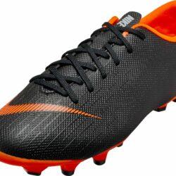 Nike Kids Vapor 12 Academy MG - Black Soccer Cleats 3800017ce427