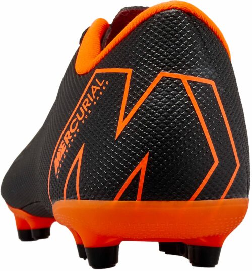 Nike Kids Vapor 12 Academy MG – Black/Total Orange