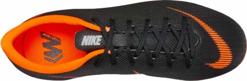 Nike Kids Vapor 12 Academy MG – Black/Total Orange