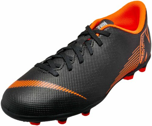 Nike Kids Vapor 12 Club MG – Black/Total Orange