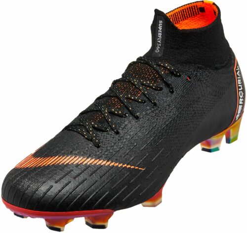 Nike Superfly 6 Elite FG – Black/Total Orange