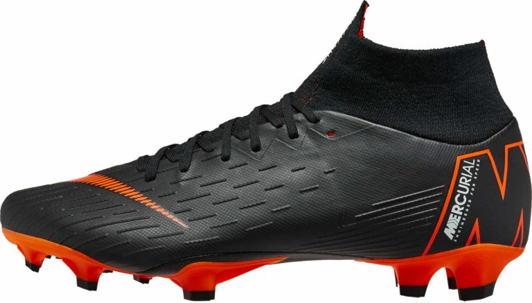 Nike Superfly 6 Pro FG – Black/Total Orange