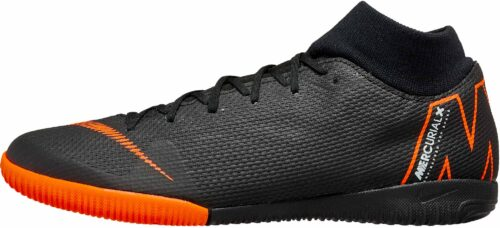 Nike SuperflyX 6 Academy IC – Black/Total Orange