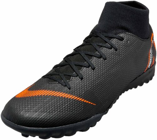 Nike SuperflyX 6 Academy TF – Black/Total Orange