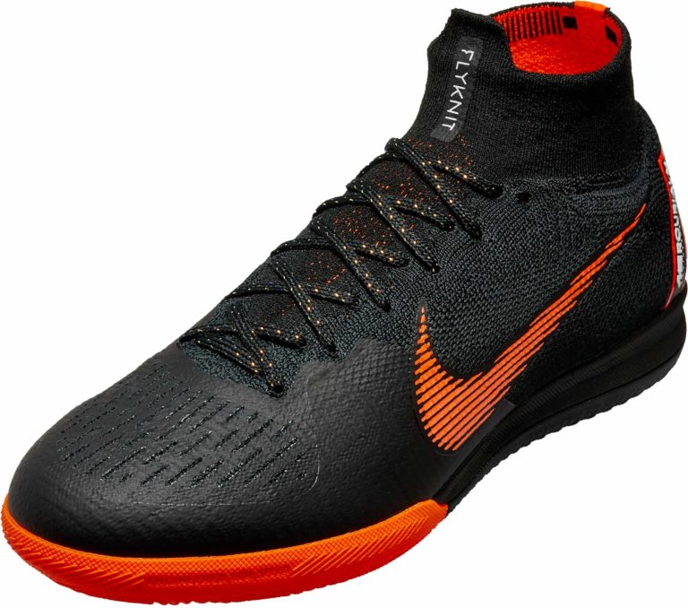 Nike SuperflyX 6 Elite IC – Black/Total Orange