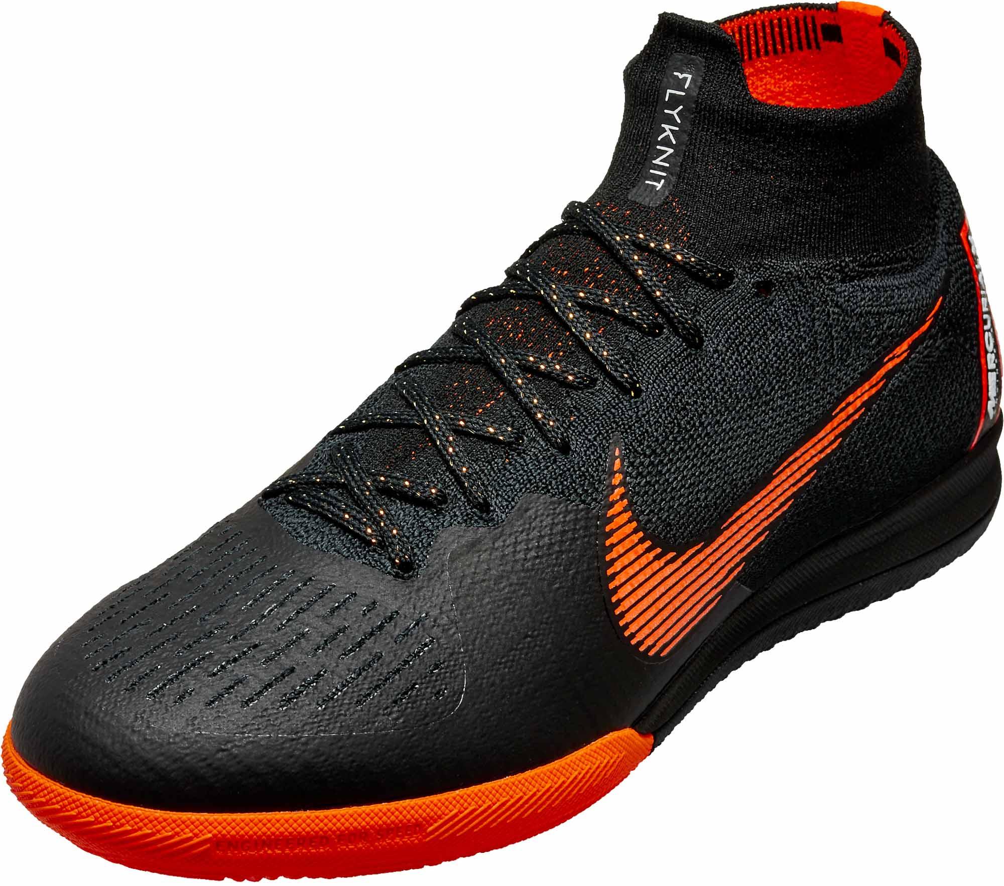 Nike SuperflyX 6 Elite IC - Black Superfly Indoor Shoes