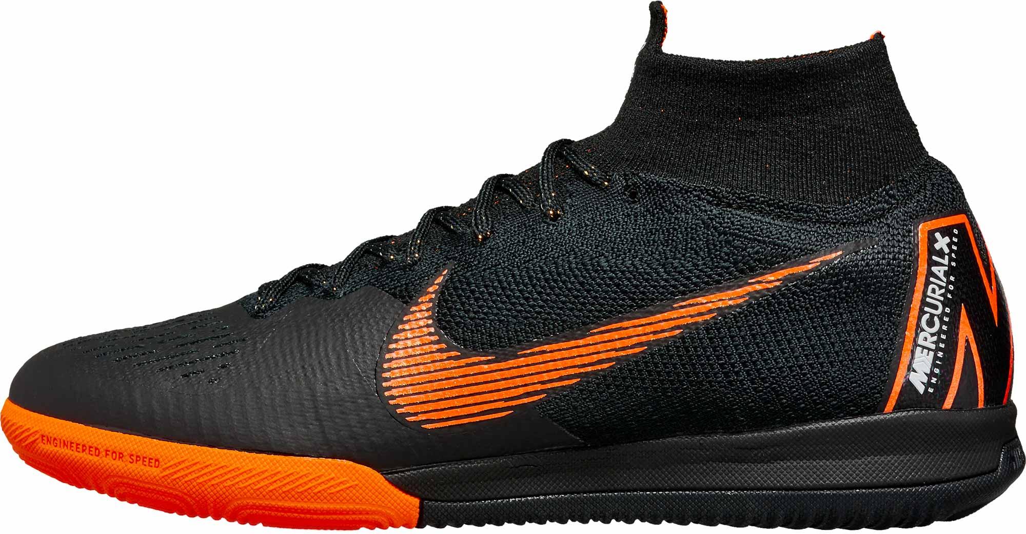 4ea64730021 Nike SuperflyX 6 Elite IC - Black Superfly Indoor Shoes