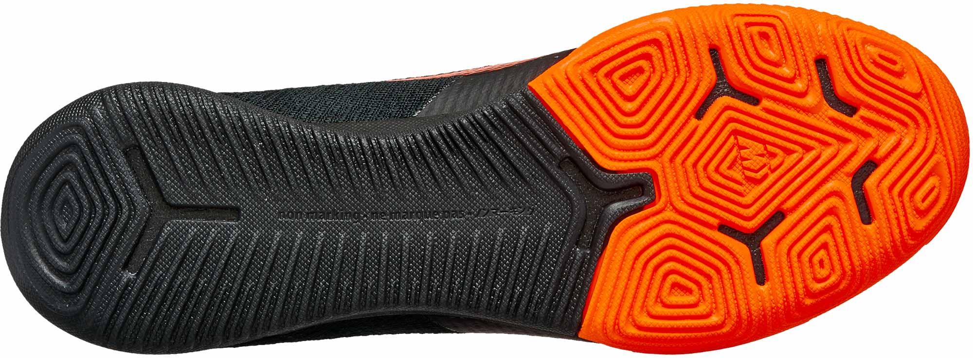 Nike SuperflyX 6 Elite IC – Black/Total Orange
