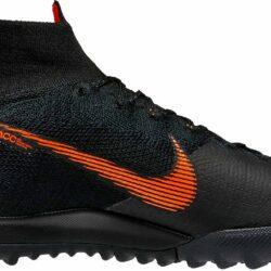 98147c51 Nike SuperflyX 6 Elite TF - Black & Total Orange