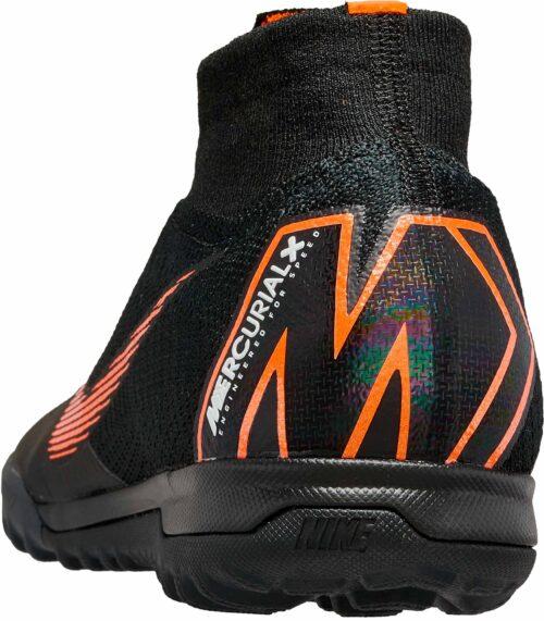 Nike SuperflyX 6 Elite TF – Black/Total Orange