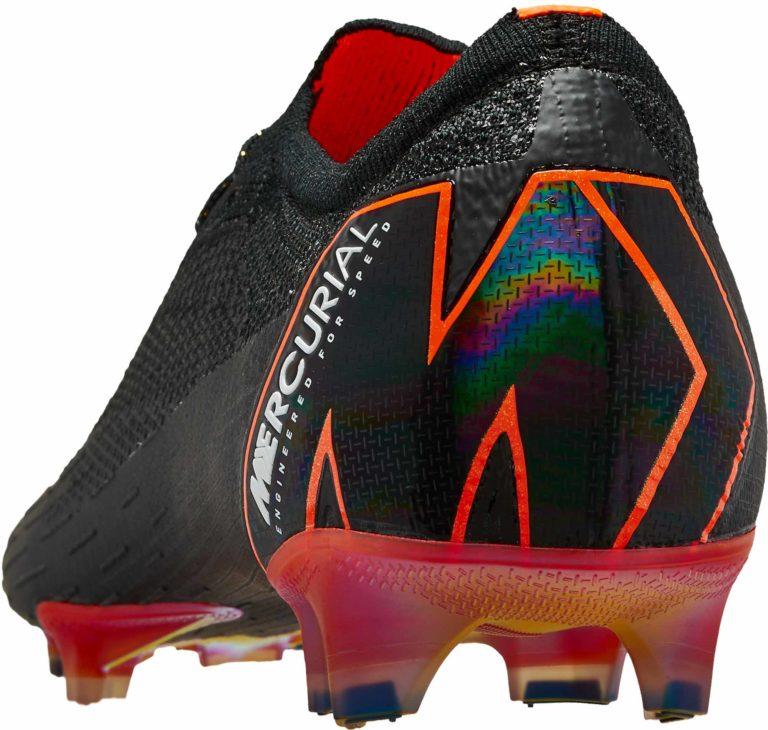 Nike Vapor 12 Elite FG – Black/Total Orange