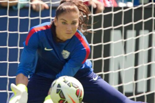 Hope Solo Jersey and Gear