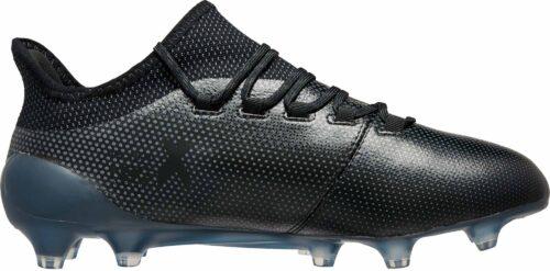 adidas X 17.1 FG – Black/Super Cyan
