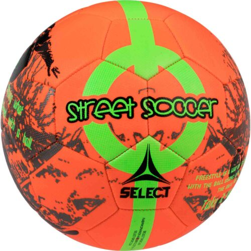 Select Street Soccer Ball – Orange