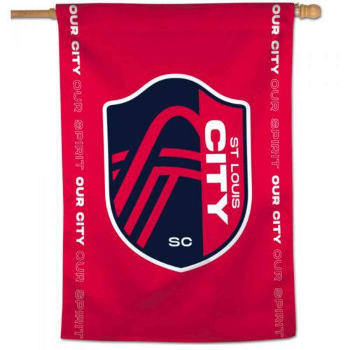 St. Louis City SC 28″ x 40″ Vertical Flag