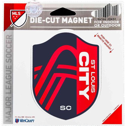 St. Louis City SC Die Cut Magnet