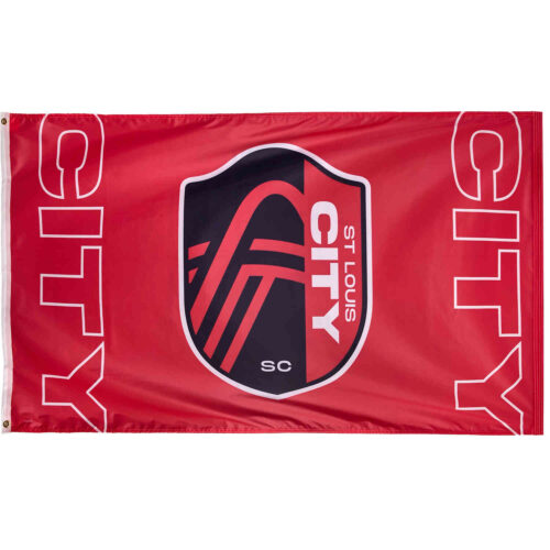 St. Louis City SC Deluxe 3′ x 5′ Flag
