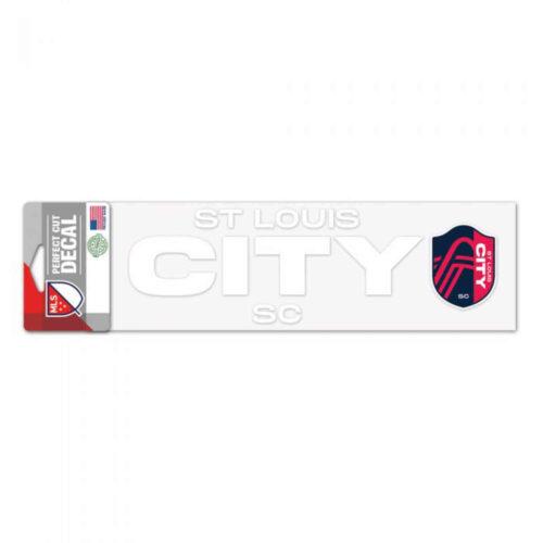 St. Louis City SC 3″ x 10″ Decal