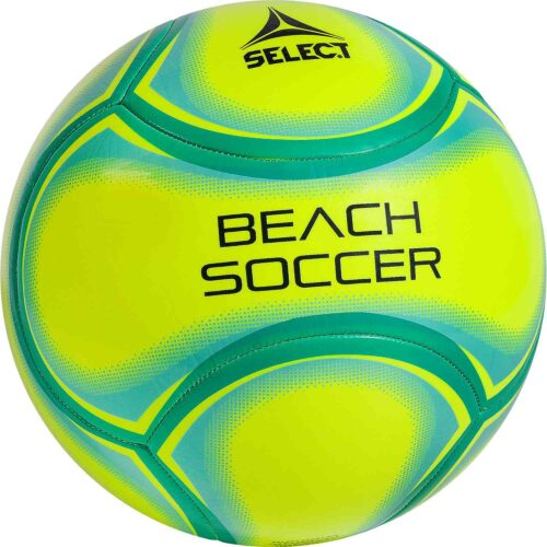 Select Beach Soccer Ball – Yellow/Green