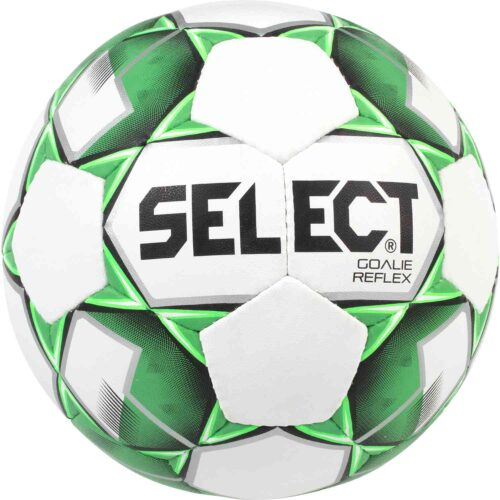 Select Goalie Reflex Trainer Soccer Ball – White/Teal