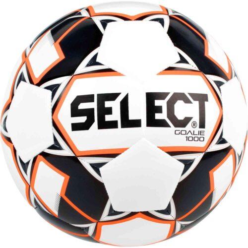 Select 1000g Weighted Goalie Trainer Soccer Ball – White/Black/Orange