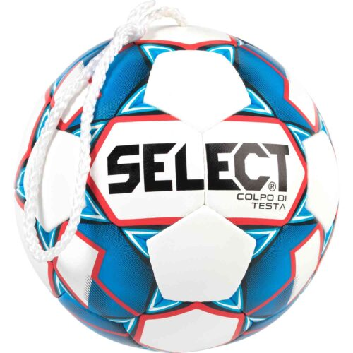 Select Colpo Di Testa Header Training Soccer Ball – White/Blue