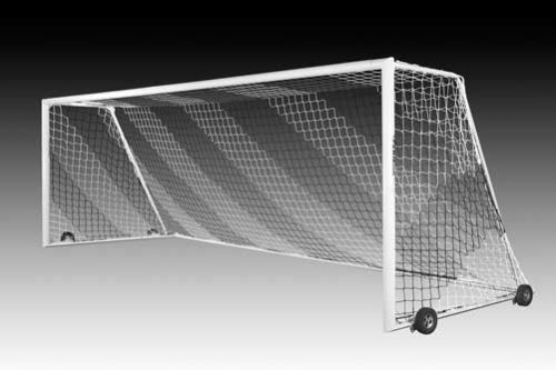 KwikGoal Evolution 2.1 Goal with Wheels – Set of Two (8'x24'x3'x9′)