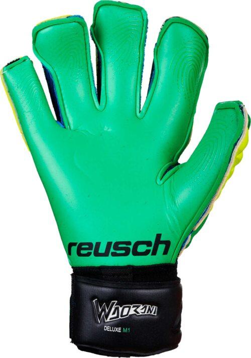 Reusch Waorani Deluxe M1 Goalkeeper Gloves  Irish Green/Yellow