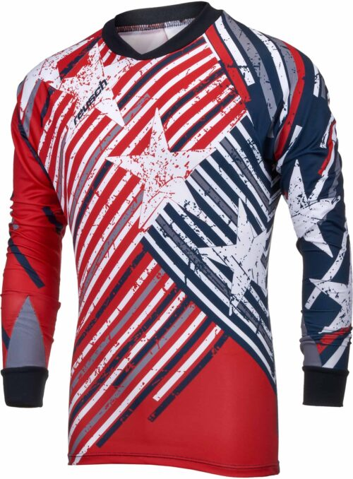 Reusch Patriot II Pro-Fit Goalkeeper Jersey – Fire Red/Dress Blue