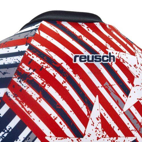 Reusch Patriot II S/S Pro-Fit Goalkeeper Jersey – Fire Red/Dress Blue