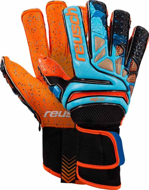 Reusch Prisma Pro G3 Fusion Evolution Ortho-Tec LTD Goalkeeper Gloves – Blue/Black