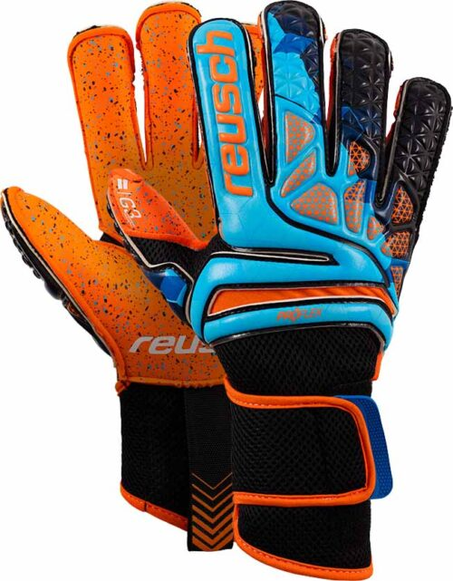 Reusch Prisma Pro G3 Fusion Evolution LTD Goalkeeper Gloves – Blue/Black