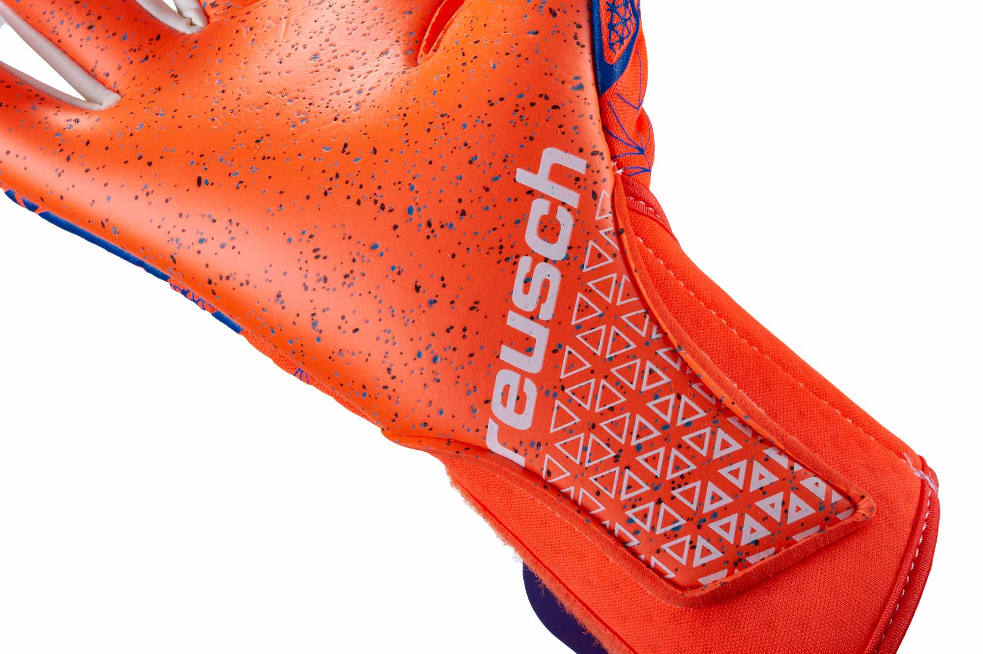 reusch pure contact g3 fusion goalkeeper gloves shocking orange blue soccerpro. Black Bedroom Furniture Sets. Home Design Ideas