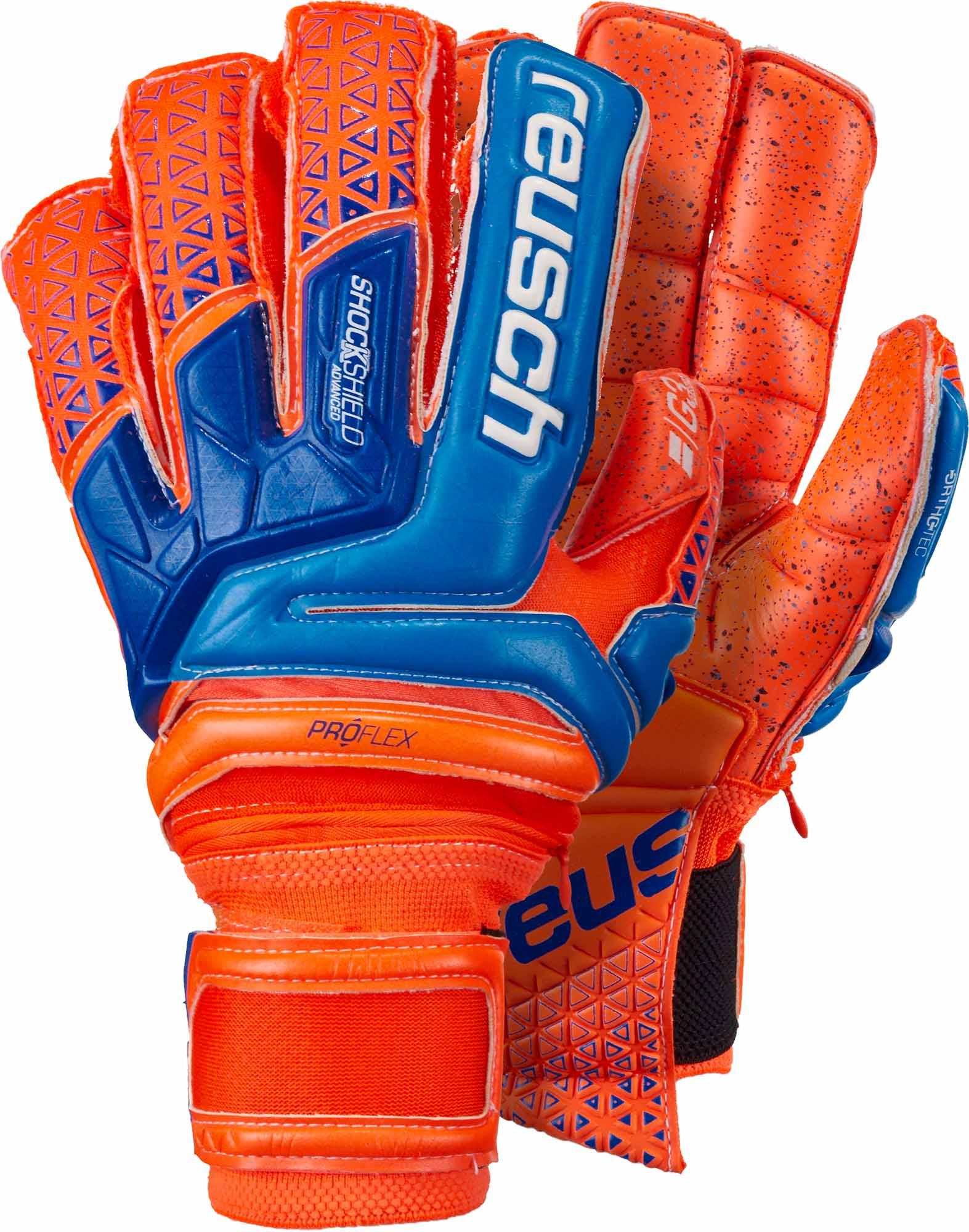 12155da237a Reusch Prisma Supreme G3 Fusion Ortho-Tec Goalkeeper Gloves – Shocking  Orange/Blue