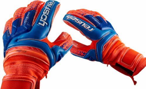 Reusch Prisma Supreme G3 Fusion Ortho-Tec Goalkeeper Gloves – Shocking Orange/Blue