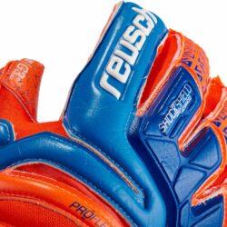 18f01afe6ee Reusch Prisma Supreme G3 Fusion Ortho-Tec Goalkeeper Gloves – Shocking  Orange/Blue. Sale!