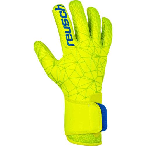 Reusch Pure Contact II S1 Goalkeeper Gloves – Safety Yellow