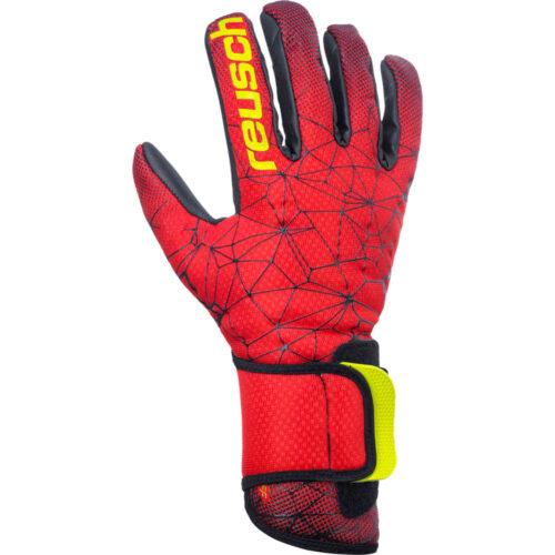 Reusch Pure Contact II R3 Goalkeeper Gloves – Red