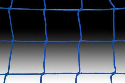 KwikGoal 5′ x 10′ x 0′ x 5′ 120mm Mesh & 2.4mm Solid Braid Net – Blue