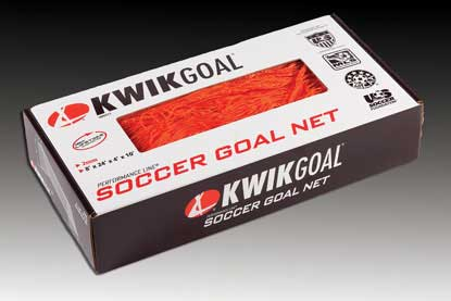 KwikGoal 8′ x 24′ x 4′ x 10′ Recreational Net – Orange